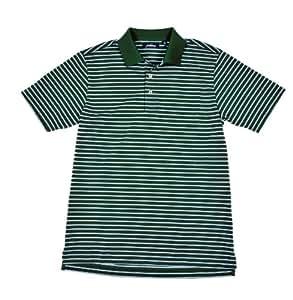Jack Nicklaus Cool Plus Prep Stripe Golf Polo Shirt