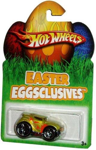 Mattel Hot Wheels 2007 Easter Eggsclusives Series 1:64 Scale Die Cast Metal Car N1141 - Metallic Lime Green ROCKET BOX - 1