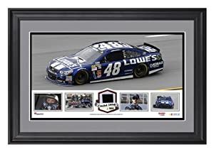 Jimmie Johnson Framed Panoramic with Race-Used Tire-Limited Edition of 500 - -... by Sports Memorabilia
