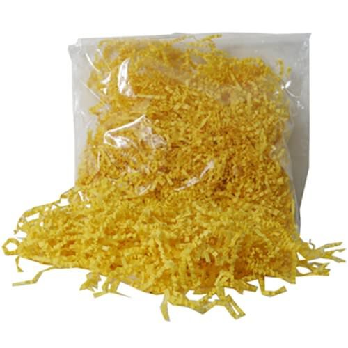 JAM Paper® Shred Tissue Paper (krinkeleen) - Yellow - 2 ounce bags