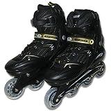 RIP SLIDEアジャスタブルインラインスケート ブラック