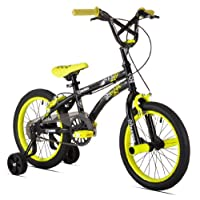 X-Games FS-16 Boys Bike (16-Inch Wheels), Black/Yellow by Kent