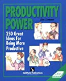 img - for By Jim Temme Productivity Power: Two Hundred Fifty Ideas for Being More Productive (Self-Study Sourcebook Series) [Paperback] book / textbook / text book