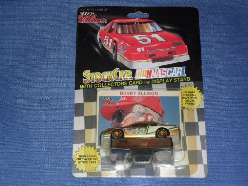 1991 NASCAR Racing Champions . . . Bobby Allison #12 Motorsports Buick 1/64 Diecast . . . Includes Collector's Card and Display Stand
