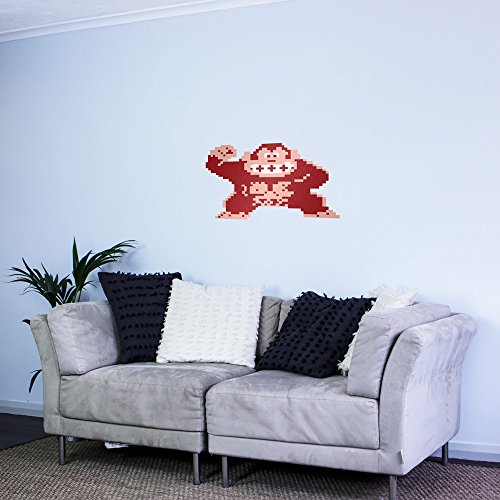 8-bit Donkey Kong Vinyl Wall Art Sticker
