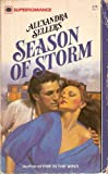 Season of Storm (Harlequin Superromance No. 87)