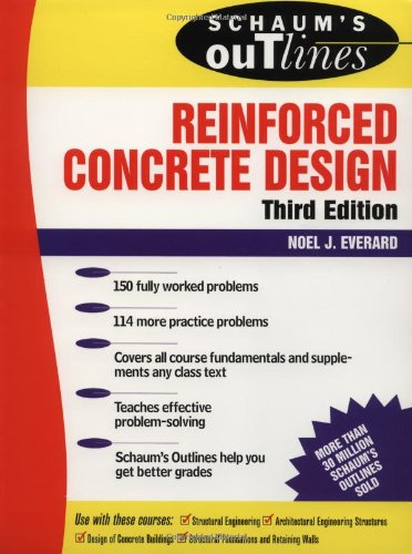 Schaum's Outline of Reinforced Concrete Design - McGraw-Hill - 0070197725 - ISBN:0070197725