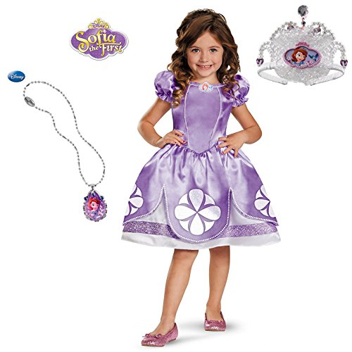 Disguise Girl's Disney The First Sofia Classic Costume, 3T-4T