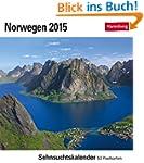 Norwegen Sehnsuchtskalender 2015: Seh...