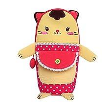 Isolé bébé / enfants Bouteille Tote Bag Portable Fashion Biberon Sac Rouge