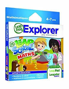Leapfrog - 89025 - Jeu Educatif Electronique - LeapPad / LeapPad 2 / Leapster Explorer - Leapschool Maths