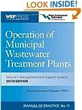 Operation of Municipal Wastewater Treatment Plants (3-Volume Set)