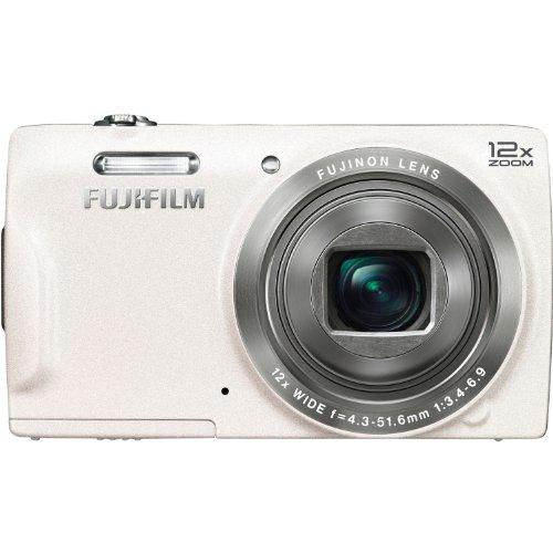 Fujifilm FinePix T550 16MP Digital Camera with 3-Inch LCD (White)