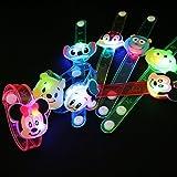 【光るおもちゃ】ディズニー 光るダイカットブレスレット 24個入