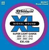 D'Addario EXL120 Saitensatz für E-Gitarre 0,02 cm – 0,11 cm (.009 – .042)