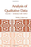 img - for Analysis of Qualitative Data, Vol. 1: Introductory Topics book / textbook / text book