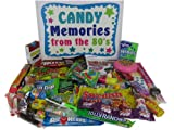 Retro Nostalgic 1980s Candy Gift Basket Box Memories From the 80s