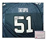 Lofa Tatupu Seattle Seahawks NFL Hand Signed Replica Home Jersey at Amazon.com