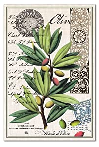 Michel Design Works Cotton Kitchen Towel, Olive Grove at Sears.com