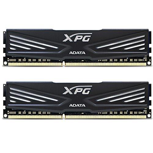 ADATA XPG V1 DDR3 1600MHz (PC3 12800) 8GB (4GBx2) Memory Modules, Black (AX3U1600W4G9-DB) (8gb Memory Module compare prices)