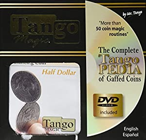 MMS Balancing Coin (Half Dollar with DVD) by Tango Magic - Trick (D0067)