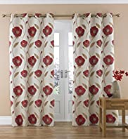 Floral Eyelet Curtains
