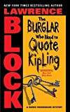 Burglar Who Liked to Quote Kipling, The (Bernie Rhodenbarr)