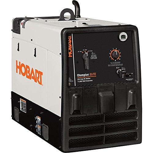 Hobart Champion Elite Welder/Generator With Running Gear Wheel Kit 23 Hp, 11,000 Watts, Model# 500562002