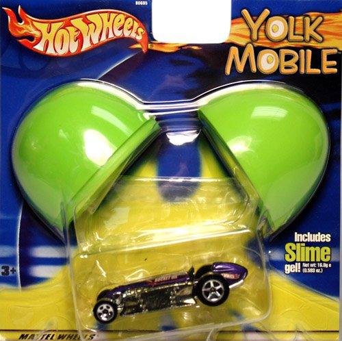Hot Wheels Yolk Mobile Rocket Oil Car - 1
