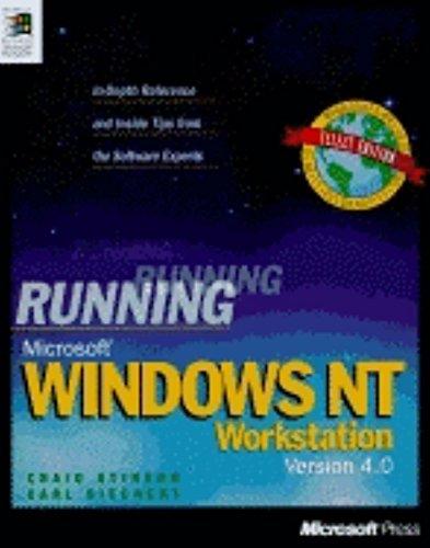 Running Microsoft Windows NT Workstation 4.0