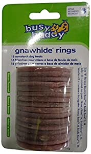 PetSafe Busy Buddy BB-GN-RING-CN-B-11 Bacon Flavored Rings, Size B