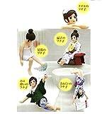 コップのフチ子 フィギュアマスコット 温泉バージョン 【全7種セット(フルコンプ)】