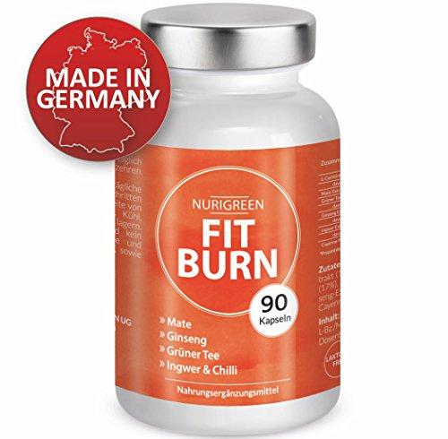FIT BURN - Vegan Abnehmen Fatburner Diät - Monatskur -...