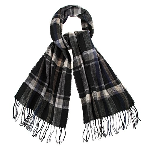 FAYBOX-Mens-Winter-Plaid-Long-Classic-Scarf-Warm-Wool-Cashmere-Feeling-Color-B