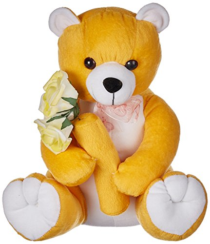 Amardeep-and-Co-Mustard-Teddy-With-Flowers-30cms-ad1130