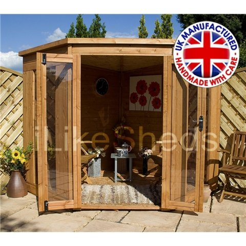 7FT x 7FT SOLIS CORNER SUMMERHOUSE (OSB FLOOR & ROOF)