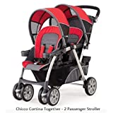 Chicco Cortina Together Double Stroller, Fuego ~ Chicco