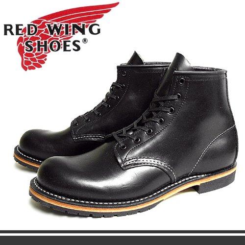 (レッドウィング)REDWING ベックマン 9014 ラウンド トゥ ブーツ 黒 レッド・ウィング MADE IN USA (REDWING 901 US8.5(26.5cm) [並行輸入品]