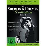 Die Sherlock Holmes Collection 2 Verhängnisvolle Reise / Gespenster im Schloss / Das Spinnennest  - 3 DVDs