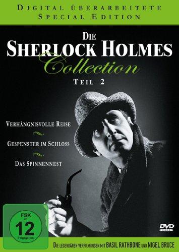 Die Sherlock Holmes Collection 2 (Verhängnisvolle Reise / Gespenster im Schloss / Das Spinnennest ) [3 DVDs]