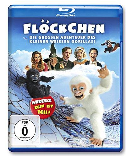 Flöckchen - Die großen Abenteuer des kleinen weißen Gorillas [Blu-ray]