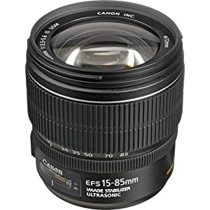 Canon EF-S 15-85mm f/3.5-5.6 IS USM Lens - 3560B002 - with Filter