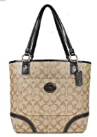 Coach 18917 Chelsea Signature Heritage Coated Canvas Tote