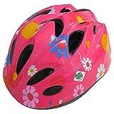 SAGISAKA(サギサカ) キッズヘルメット 幼児用 スタンダードモデル Sサイズ フラワーピンク 46341