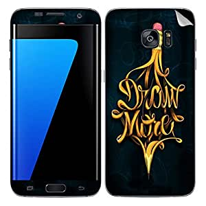 Theskinmantra Draw More SKIN/STICKER/DECAL for Samsung Galaxy S7