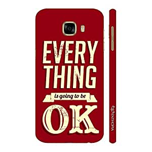 Enthopia Designer Hardshell Case Everything is going to be OK Back Cover for Samsung Galaxy C5
