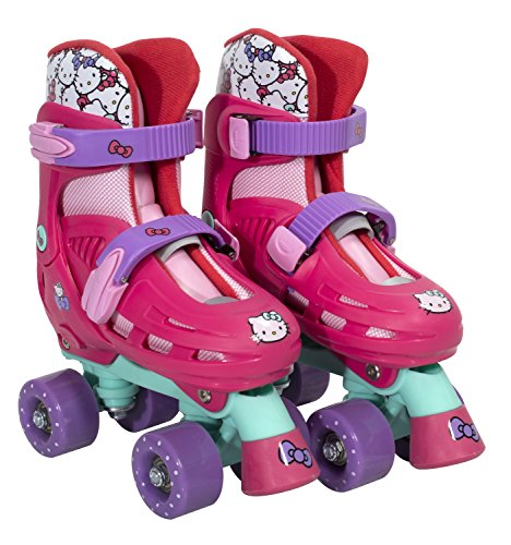 PlayWheels-Hello-Kitty-Kids-Classic-Quad-Roller-Skates-Junior-Size-10-13