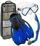 Head Schnorchel-Set Alize Junior Taucherbrille und Schnorchel mit Ausblasventil