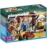 Playmobil - 5136 - Jeu de construction - Equipage de pirates avec armes