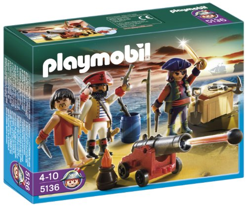PLAYMOBIL Pirates Commander with Armory - 1